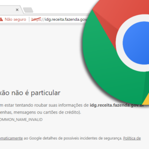 Erro de Certificado no Chrome